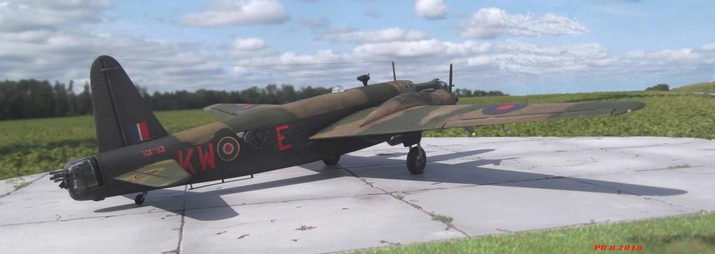 Vickers Wellington Airfix 1/72 vieux modèle  Well3011