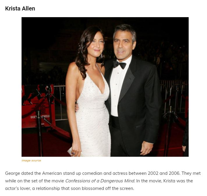 A Walk Through The Maze Of George Clooney's Past Relationships, Family and Net Worth Articl14