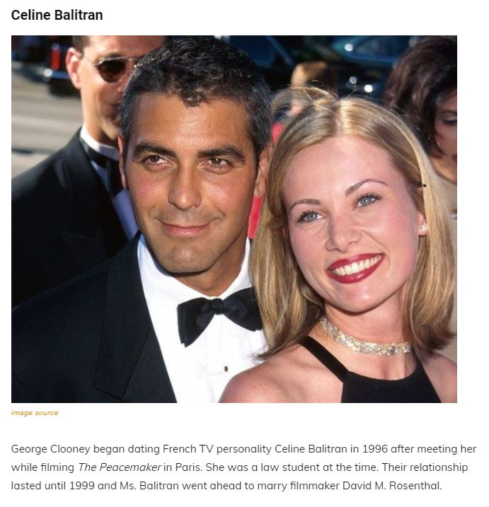 A Walk Through The Maze Of George Clooney's Past Relationships, Family and Net Worth Articl15