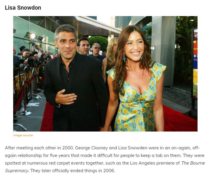 A Walk Through The Maze Of George Clooney's Past Relationships, Family and Net Worth Articl17