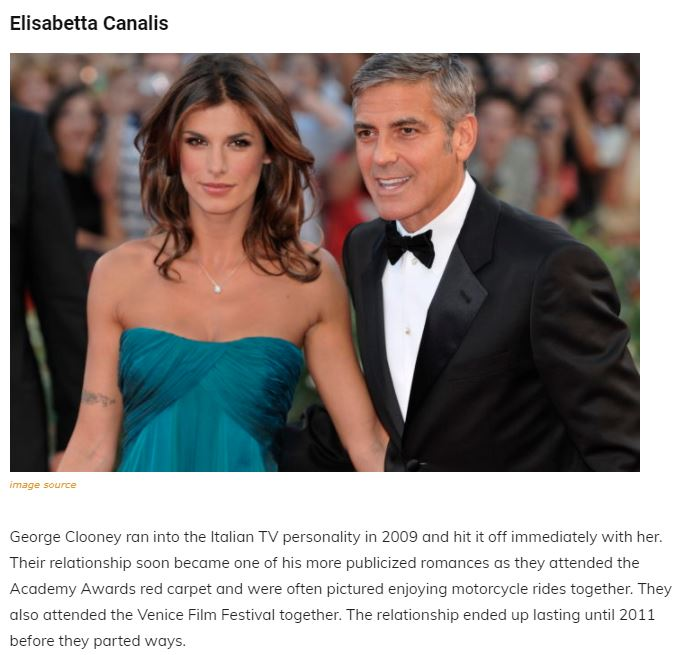 A Walk Through The Maze Of George Clooney's Past Relationships, Family and Net Worth Articl18