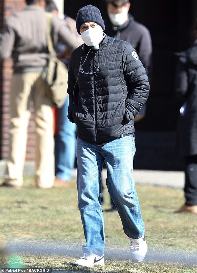 6th March 2021: George still filming in Boston Boston10
