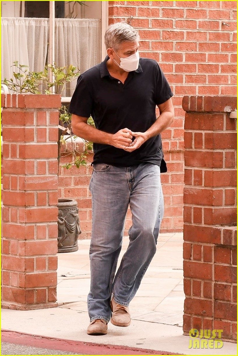 George in Beverley Hills today... Cloone18