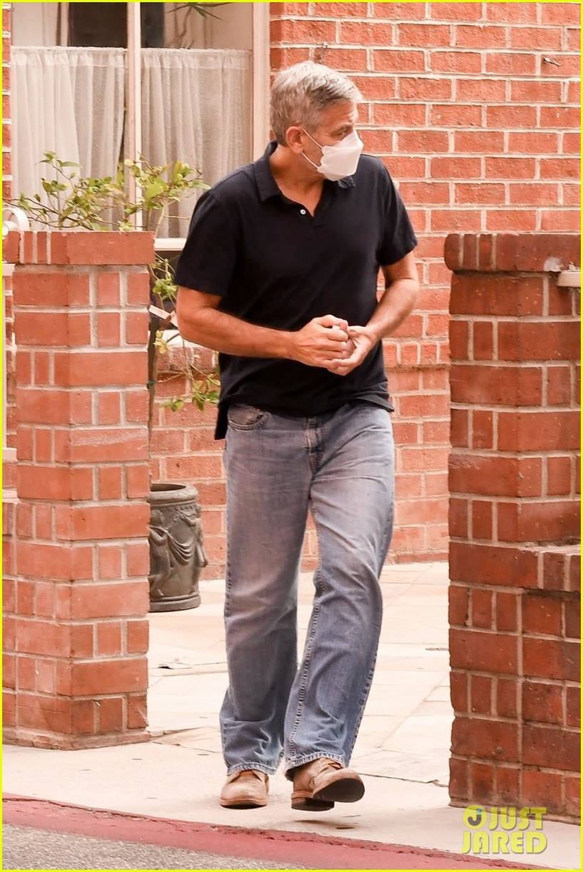 George in Beverley Hills today... Cloone21