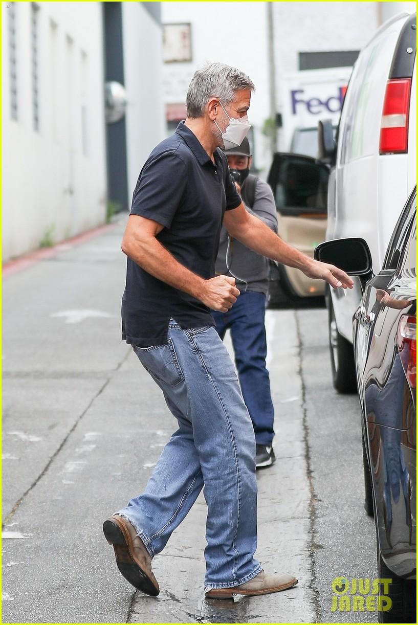 George in Beverley Hills today... Cloone27