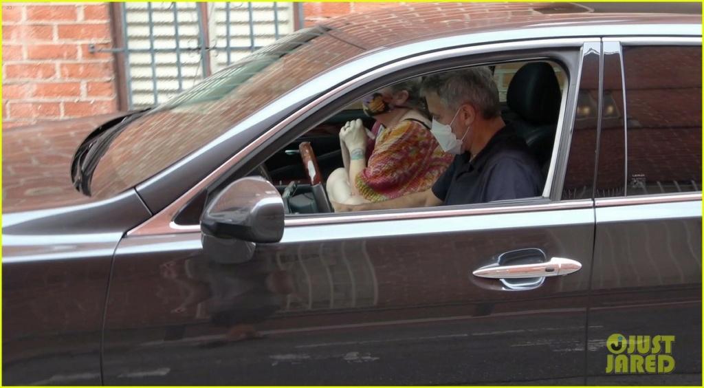 George in Beverley Hills today... Cloone29