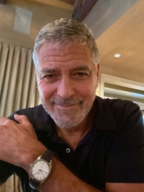 Auction: bid for George Clooney's watch to support Homes For Our Troops charity Cloone32