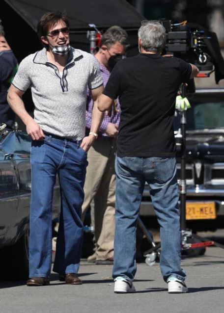 George Clooney and Ben Affleck on set - March 23rd  Filmin11