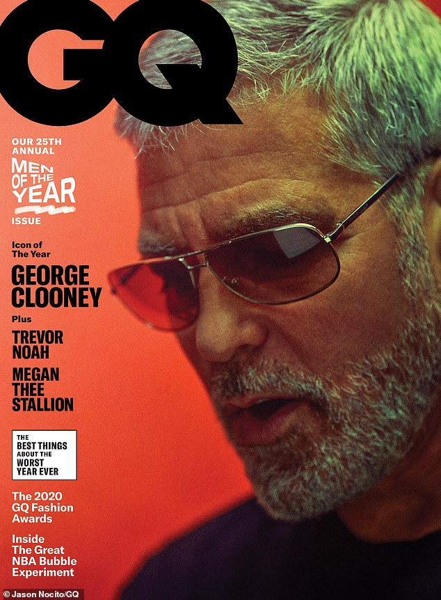 George Clooney interview with GQ magazine.  Nov 2020 Gq_mag15