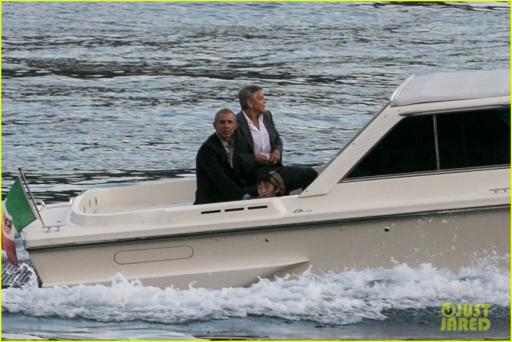 Conspiracy theory falsely links Clooney & Obama to sexual misconduct Obama_12
