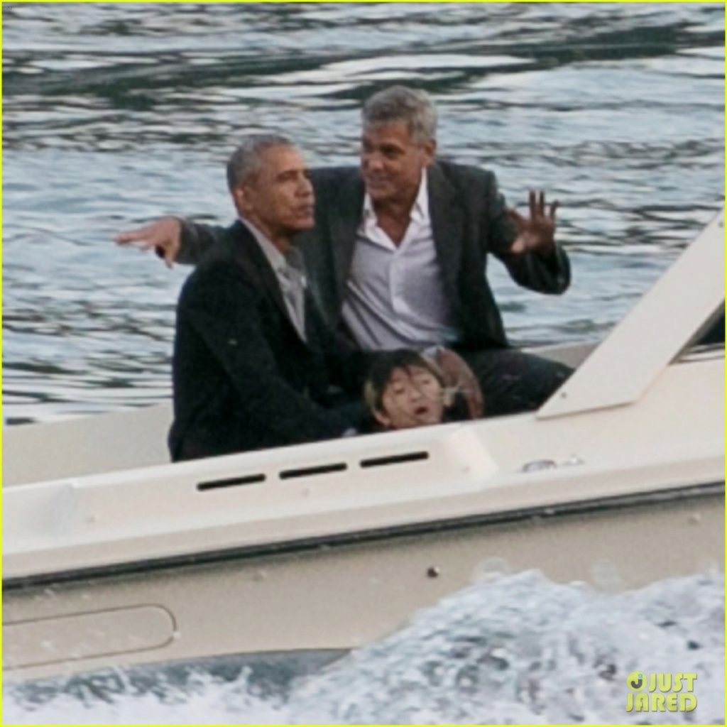 Conspiracy theory falsely links Clooney & Obama to sexual misconduct Obama_14
