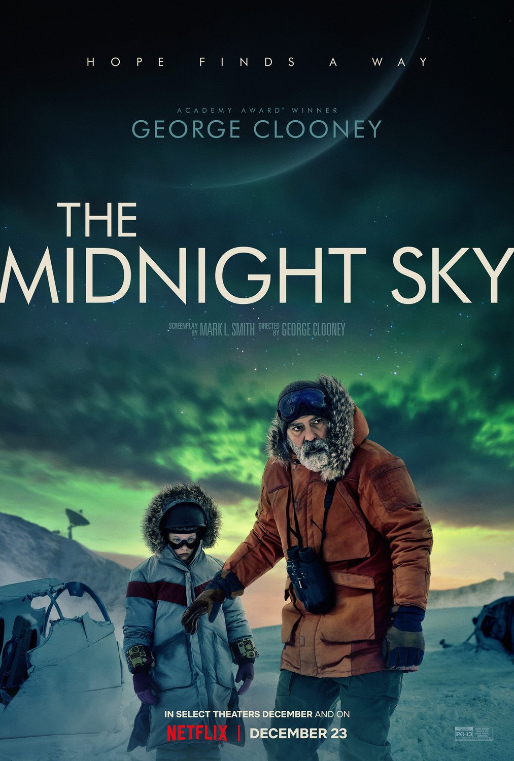 New poster for The Midnight Sky The_mi14