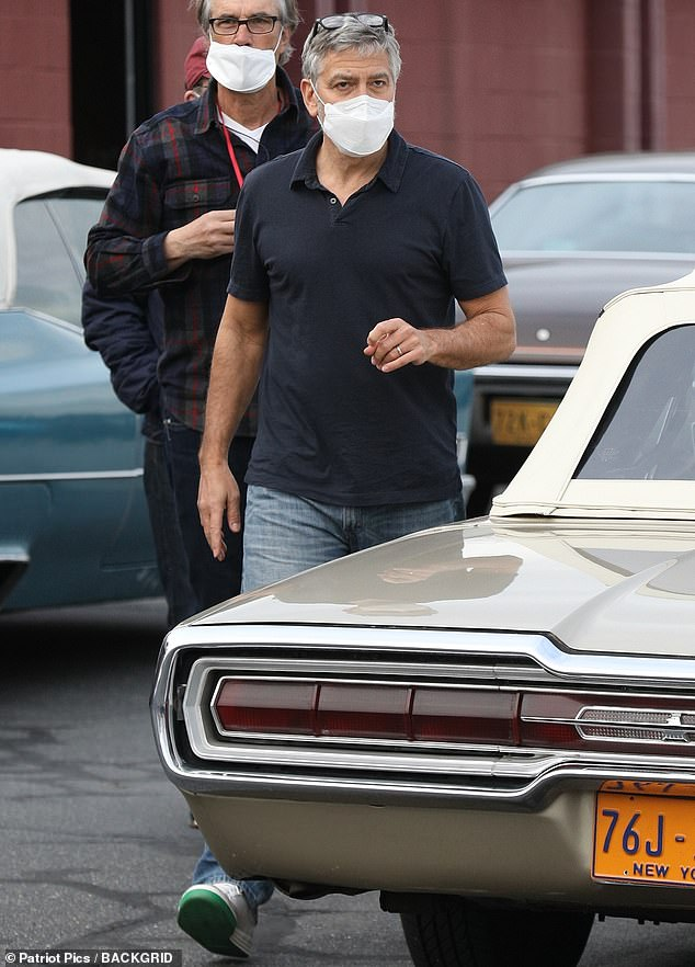 5 April 2021: George Clooney filming again The_te14