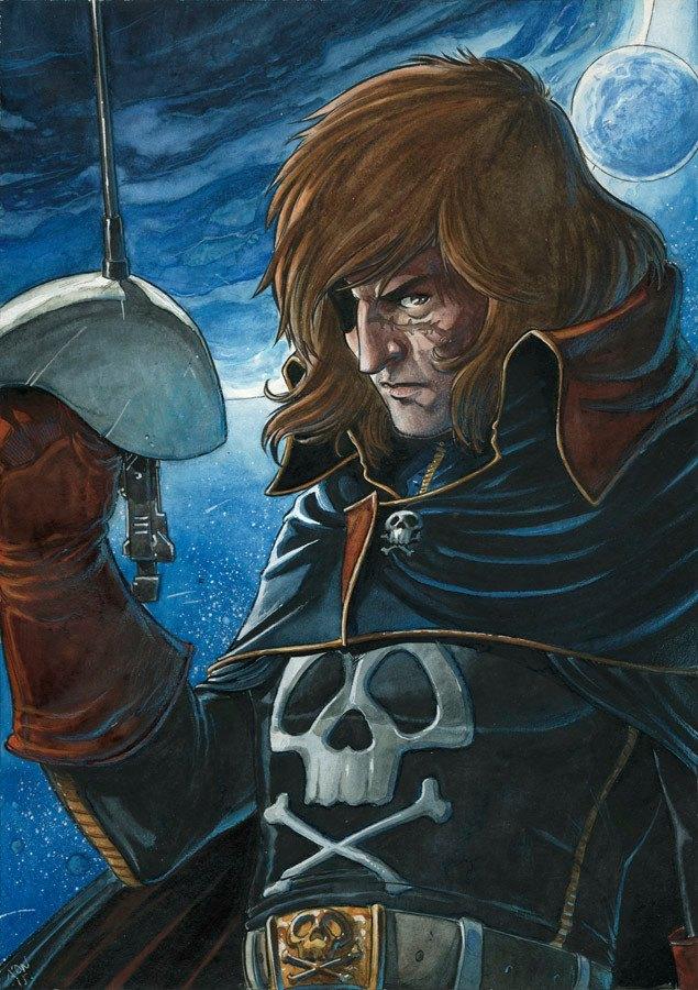 Albator / Captain Harlock : Fan-arts. - Page 39 46043010