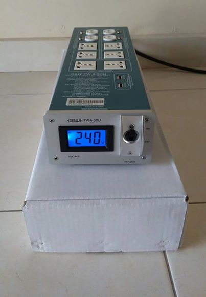G&W power conditioner/filter/protection 119