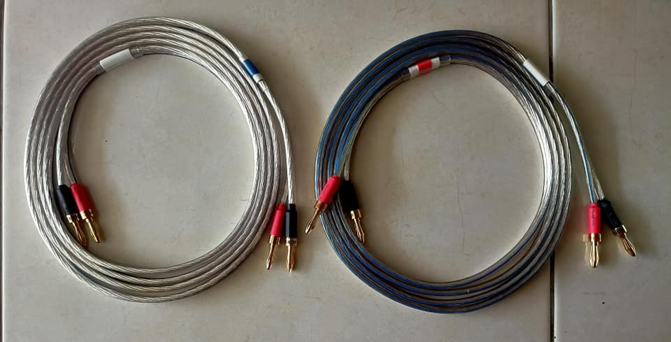 Oehlbach Silverline 25 series silver plated speaker cable 170