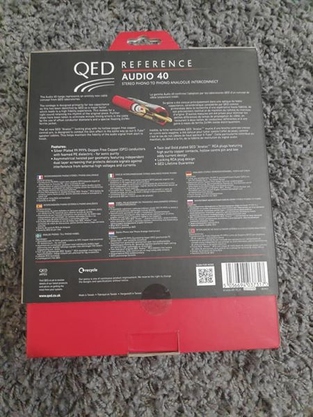 QED rca interconnect Reference Audio 40 248