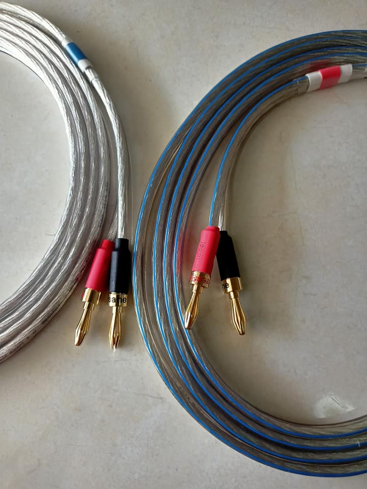 Oehlbach Silverline 25 series silver plated speaker cable 266