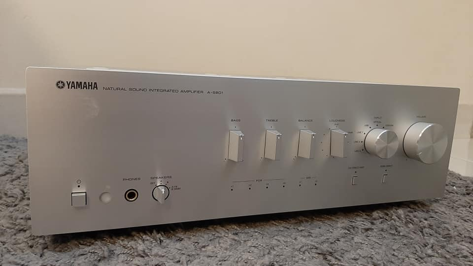 (SOLD) - Yamaha A-S801 integrated amplifier A12