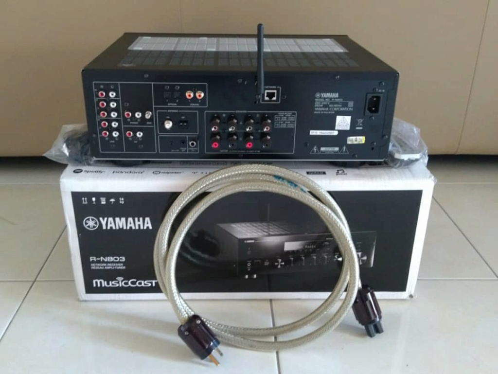 (Sold) - Yamaha R-N803b Network Amplifier Whatsa13