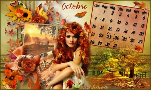 Defi calendrier octobre 2019 Calend14