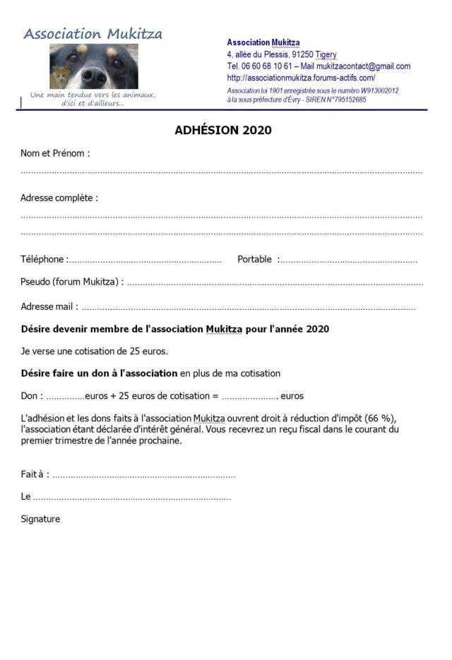Adhésion 2020 Adhes211