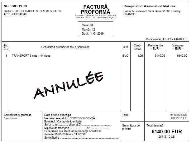 ROUMANIE : Arrivée du 2 février 2019 par camion (Report de la date initiale du 19 janvier) Florin11