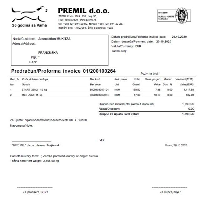 Appel aux dons  - Refuge de BELLA   :  Salaire  Employé  & Croquettes Prem2010