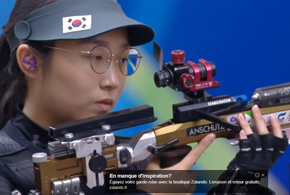 Ch du monde ISSF Corée du sud le 31 aout 2018  Lunett10