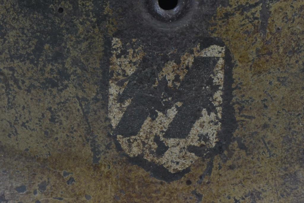Casque M40 insigne SS avec photos supplémentaires Dsc_0175