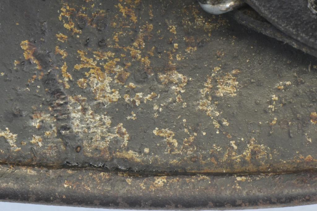 Casque M40 insigne SS avec photos supplémentaires Dsc_0181