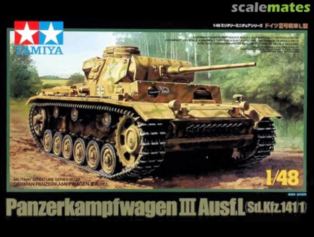 Panzerkampfwagen III Ausf. L Sd.Kfz. 141/1 - [TAMIYA, 1/48] 13348510