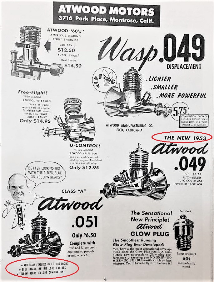 Atwood Wasp .049 11004710