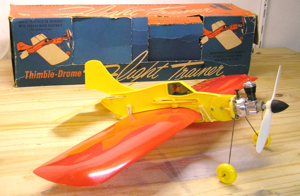 Old Thimble Drome Airplane Pc310010