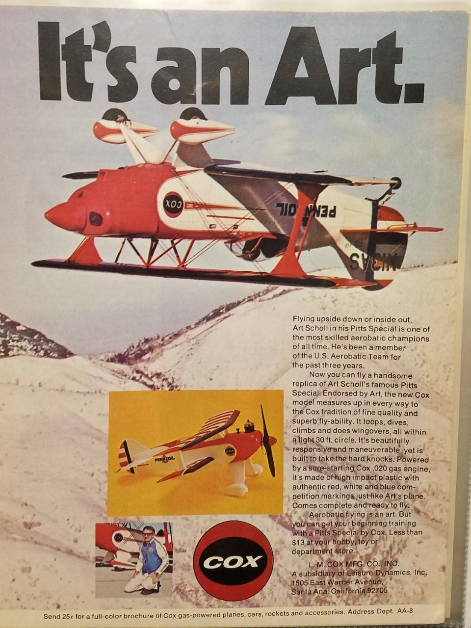 Art Scholl Cox Planes- Super Chipmunk & Pitts Thumbn12