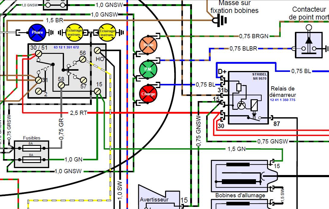 relais démarreur r50/5 Pb_rel10
