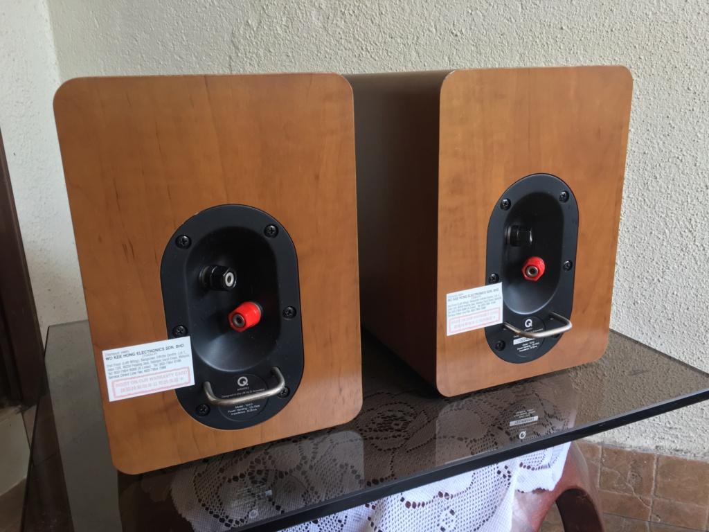 Q Acoustics 1010 Loudspeakers Img_3112