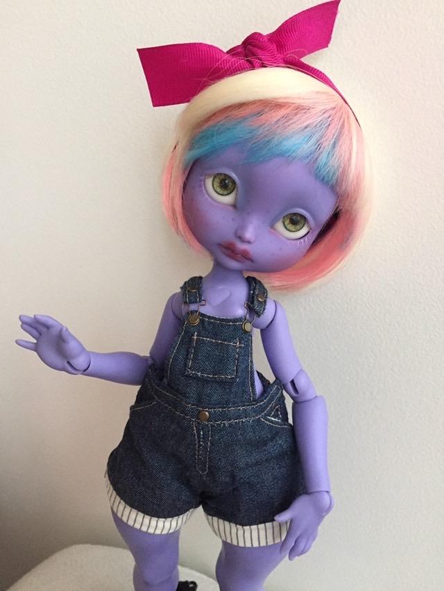 [Feeler].  Cerisedolls POULPY purple fullset ou nude 96cdbd10