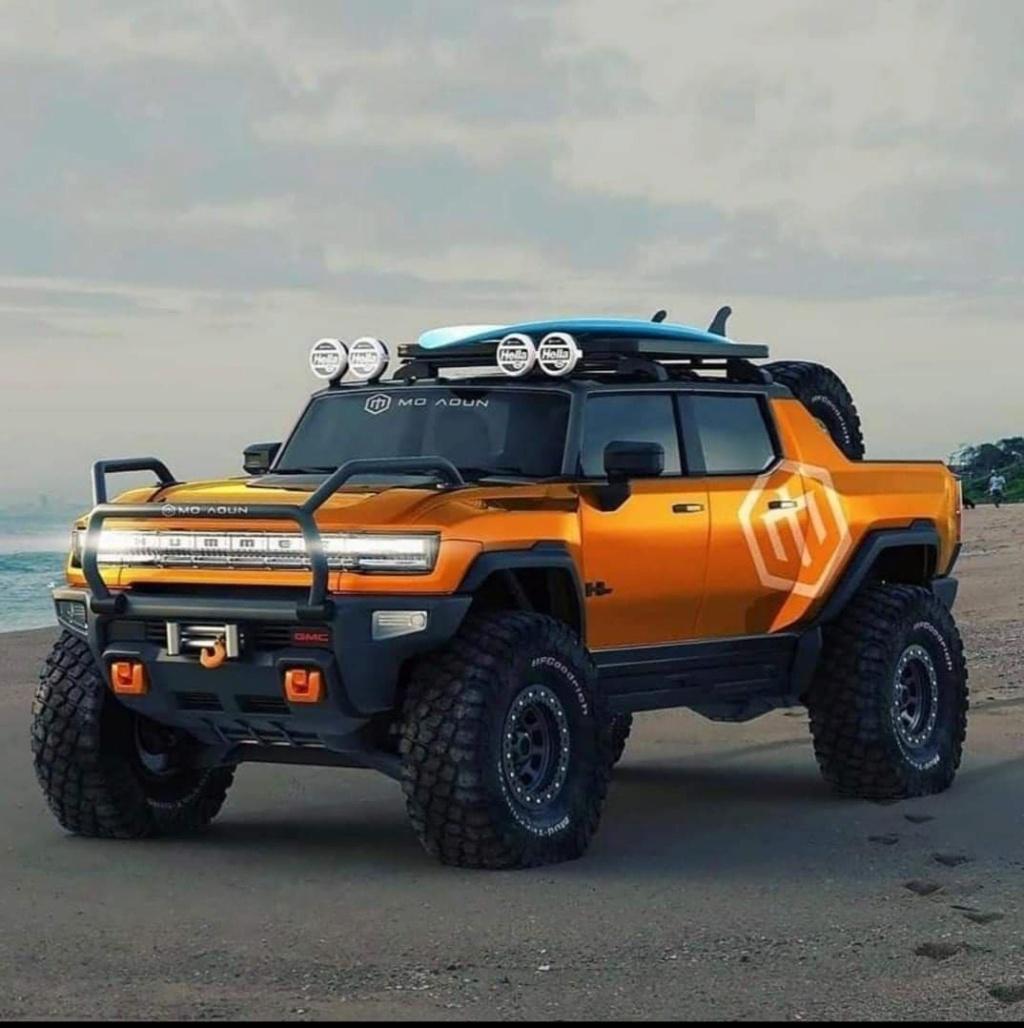 Voilà le nouveau Hummer est arrivé ; GM dévoile le Hummer EV en tant que `` premier supertruck au monde '' pour 112600 $ à partir de 2021 12311310