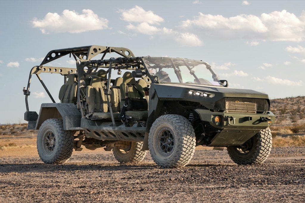 Le nouveau Kia VTT avec un petit air du nouveau Hummer EV électrique concurrence le GM ISV 2020-g10