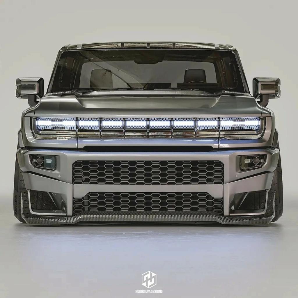 Voilà le nouveau Hummer est arrivé ; GM dévoile le Hummer EV en tant que `` premier supertruck au monde '' pour 112600 $ à partir de 2021 - Page 8 2022-h12