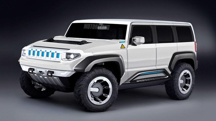 Nouveau Hummer électrique pour affronter les SUV Tesla et Rivian ? On dit que General Motors relance la marque Hummer en tant que fabricant de camions et de SUV entièrement électriques 2023-h10
