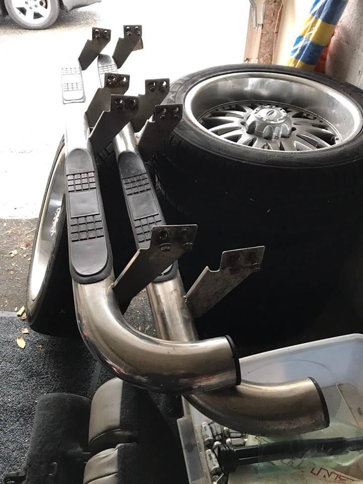 4 jantes/pneus 345/50/22 , paire marche-pieds chrome et 6 éme siège pour Hummer H2 47577510