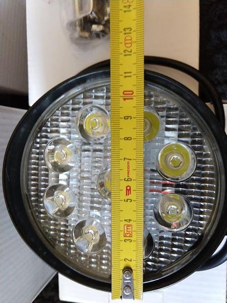 4 feux LED 42W 3300lm  12 cm de diamètre et 7cm de profondeur 58599110