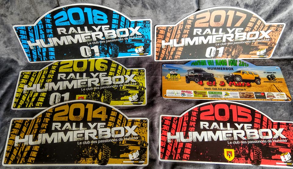 J - 6 .... pour la 8 ème édition du Rallye Hummerbox 30 et 1 & 2 juin encore quelques dernières places disponibles alors contactez nous au 06 10 56 44 35  61169710