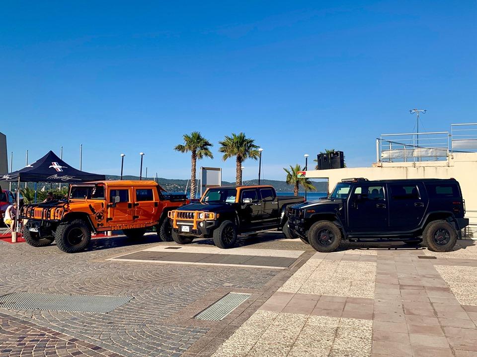 Photos  & vidéos du Cavalaire Motors Festival 8 et 9 juin 2019 à Cavalaire sur Mer (83240) avec le Club Hummerbox 62115910