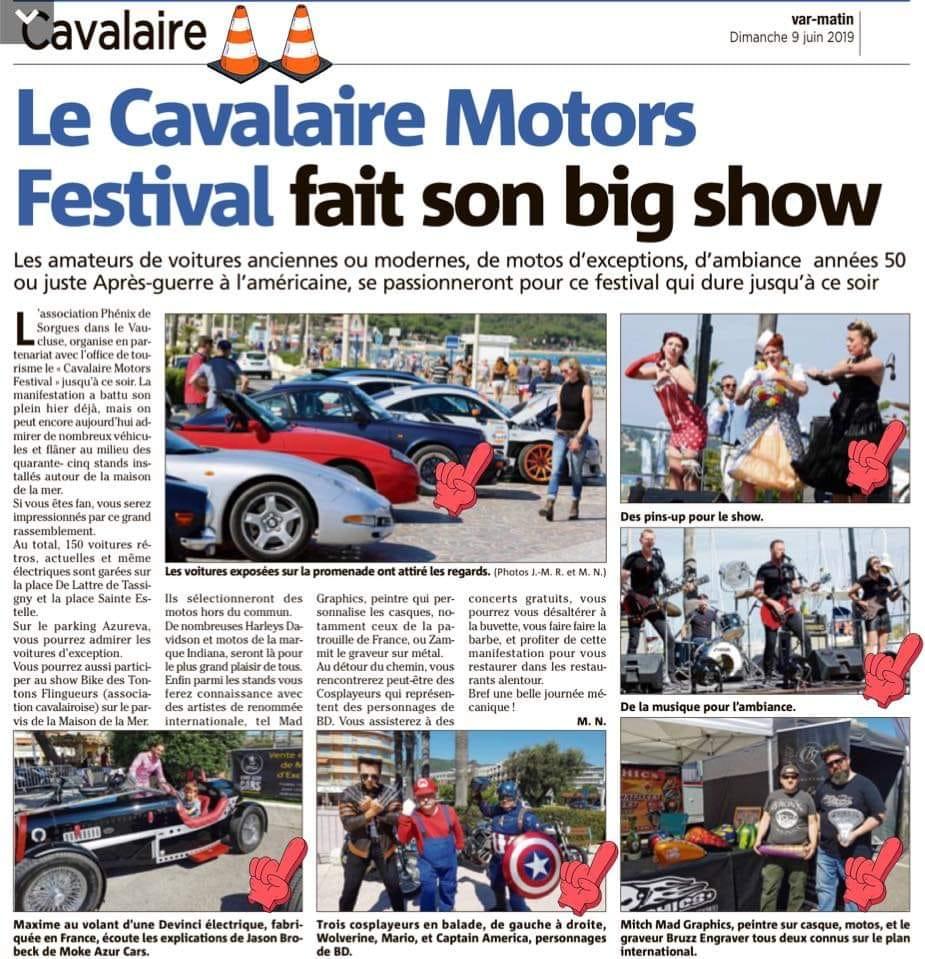 Photos  & vidéos du Cavalaire Motors Festival 8 et 9 juin 2019 à Cavalaire sur Mer (83240) avec le Club Hummerbox 64234710
