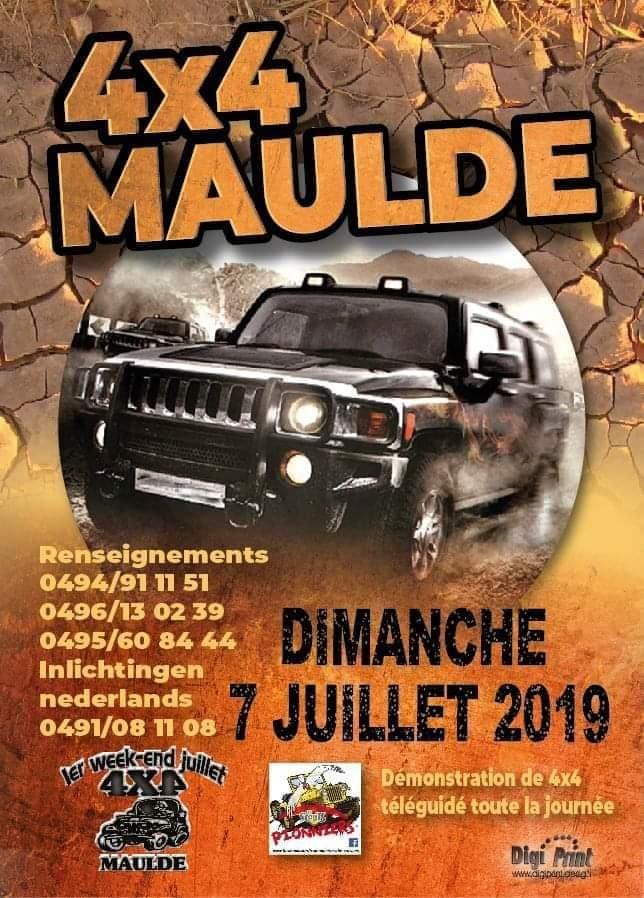 4X4 DE MAULDE du 4 au 7 Juillet 2019 7534 MAULDE (TOURNAI) 65478010