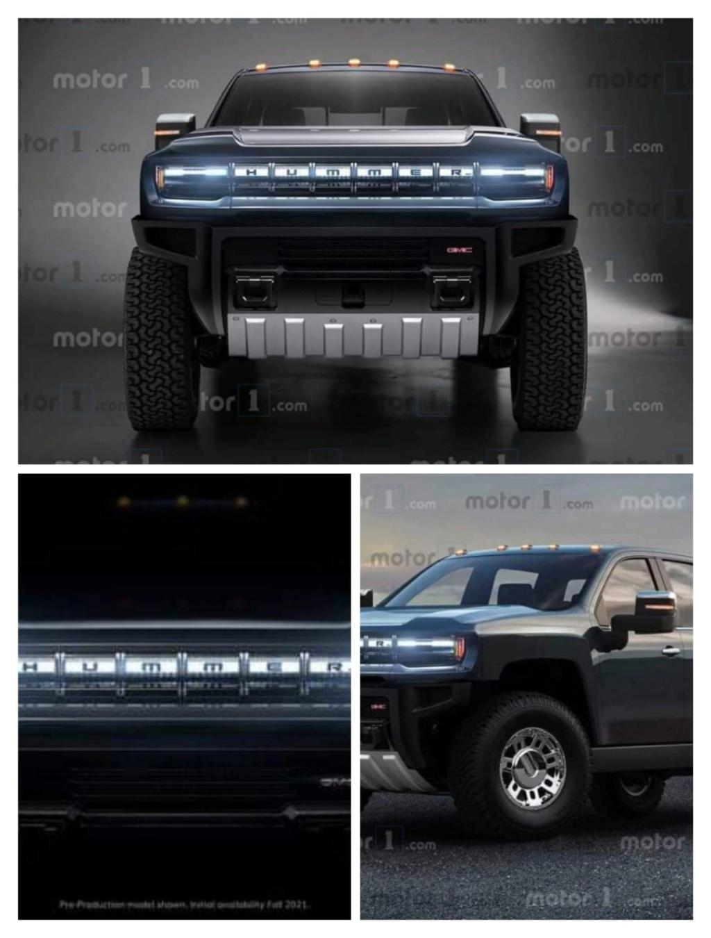 Voilà les photos du nouveau Hummer électrique  84152510