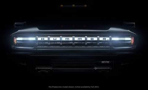 Voilà les photos du nouveau Hummer électrique  84491010